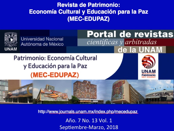 Décimo Tercera Edición de la Revista MEC-EDUPAZ con el tema de Paisajes Culturales y Desarrollo Sostenible